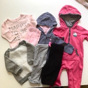 Bundle of Fall 0 - 3 months Clothes Mix and match